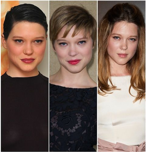 HairTalk®: Beautiful People, Beautiful Hair  Celebrity Hair Talk  Lea Seydoux  Page 1