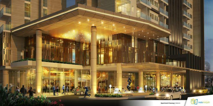 Luxury Lobby dari Apartemen Skyline Residence Cawang