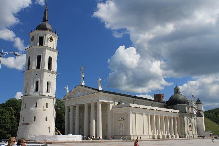 Fotografía: Cristina y Justo- Catedral Católica. Vilnius