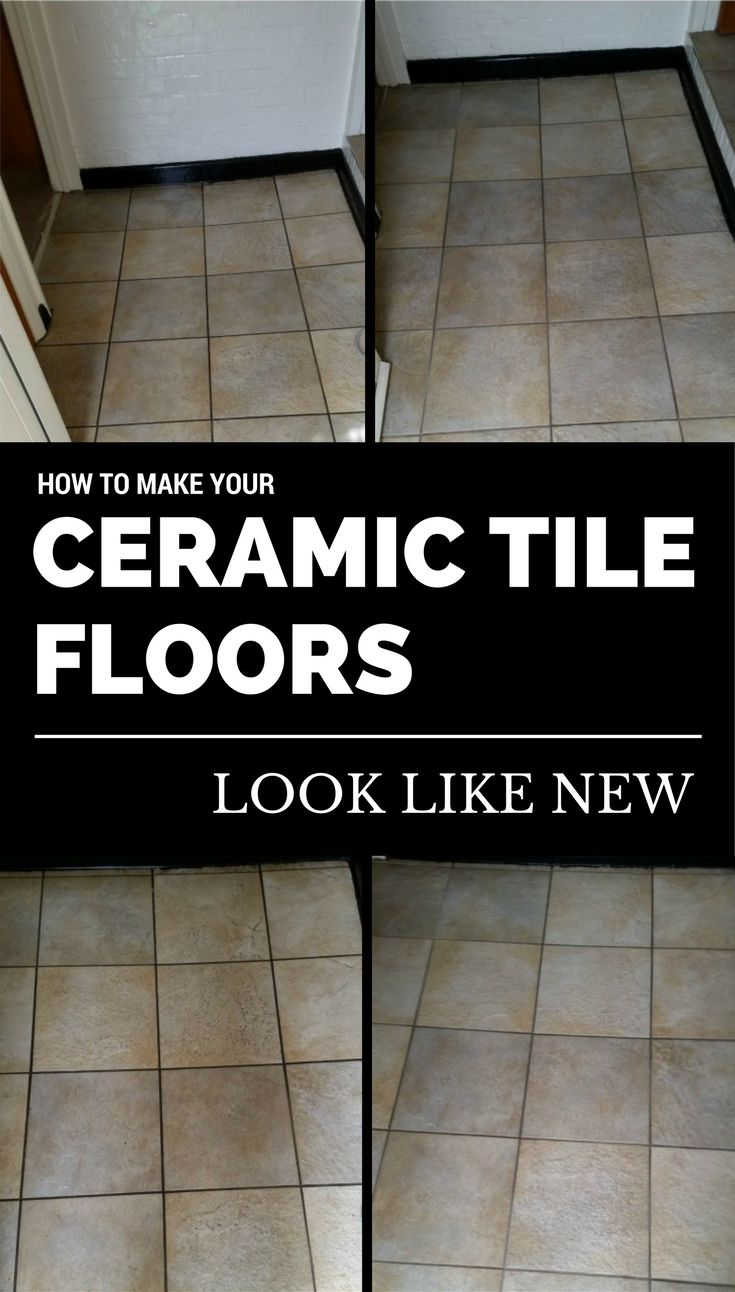 25 unique cleaning ceramic tiles ideas on pinterest ceramic how to make your ceramic tile floors look like new ncleaningtips dailygadgetfo Image collections