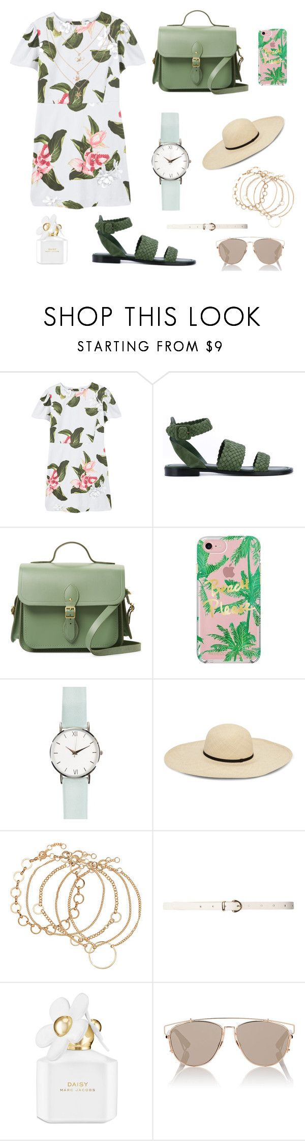 """Spring set"" by waha-tutu ❤ liked on Polyvore featuring MANGO, Paul Andrew, The Cambridge Satchel Company, Rebecca Minkoff, Dorothy Perkins, Marc Jacobs and Christian Dior"