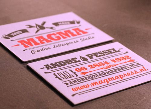 MAGMA Creative Letterpress Studio