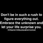 Don't be.....