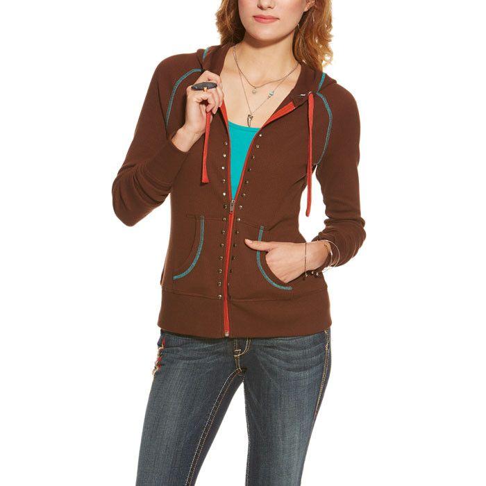 Ariat® Women's Maya Zip Hoodie Sweatshirt [10015672]