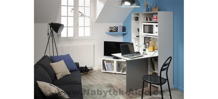 Multifunkční skříňka do kuchyně, kanceláře a dalších interiérů Now 803271
