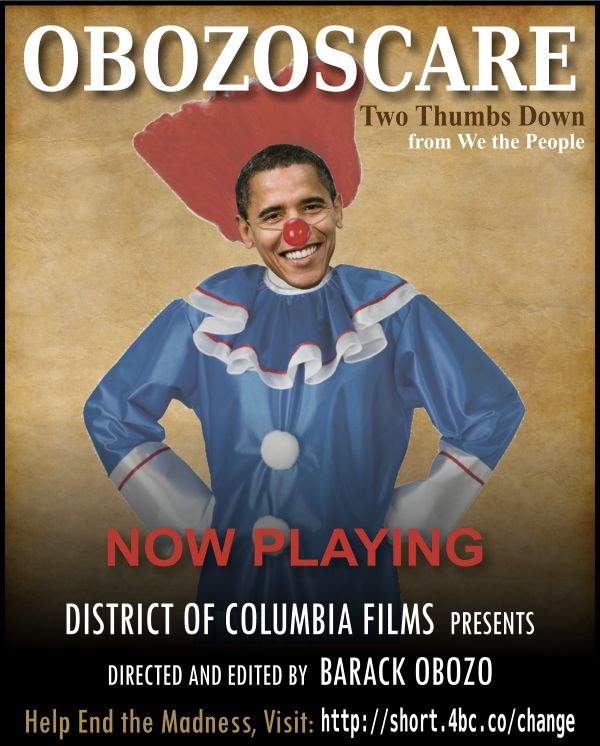 ObozoScare the Film, Directed by Barack Obozo