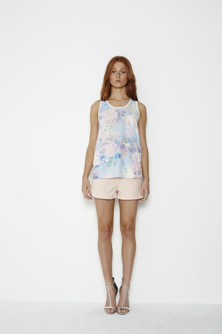 State Floral Tank – Runway Clothing and Accessories
