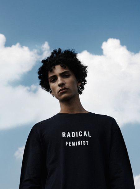 T-shirt: radical feminism feminist alternative quote on it mens sweater statement tees