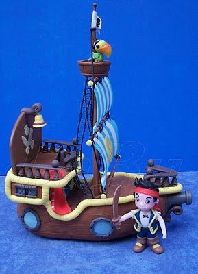 """LaBu: """"JAKE"""",el pirata y su barco"""