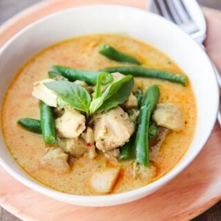 skinnymixer's Thai Red Chicken Curry
