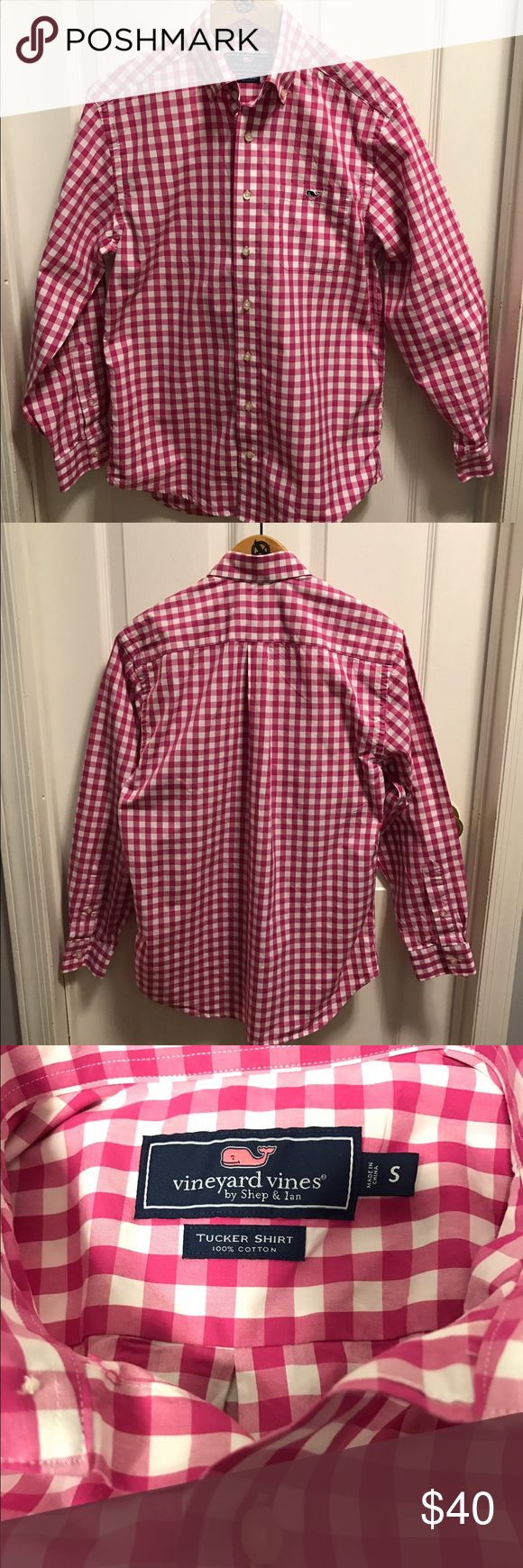 Selling this Vineyard vines Tucker shirt, checkered, size Small on Poshmark! My username is: itsmebg. #shopmycloset #poshmark #fashion #shopping #style #forsale #Vineyard Vines #Other
