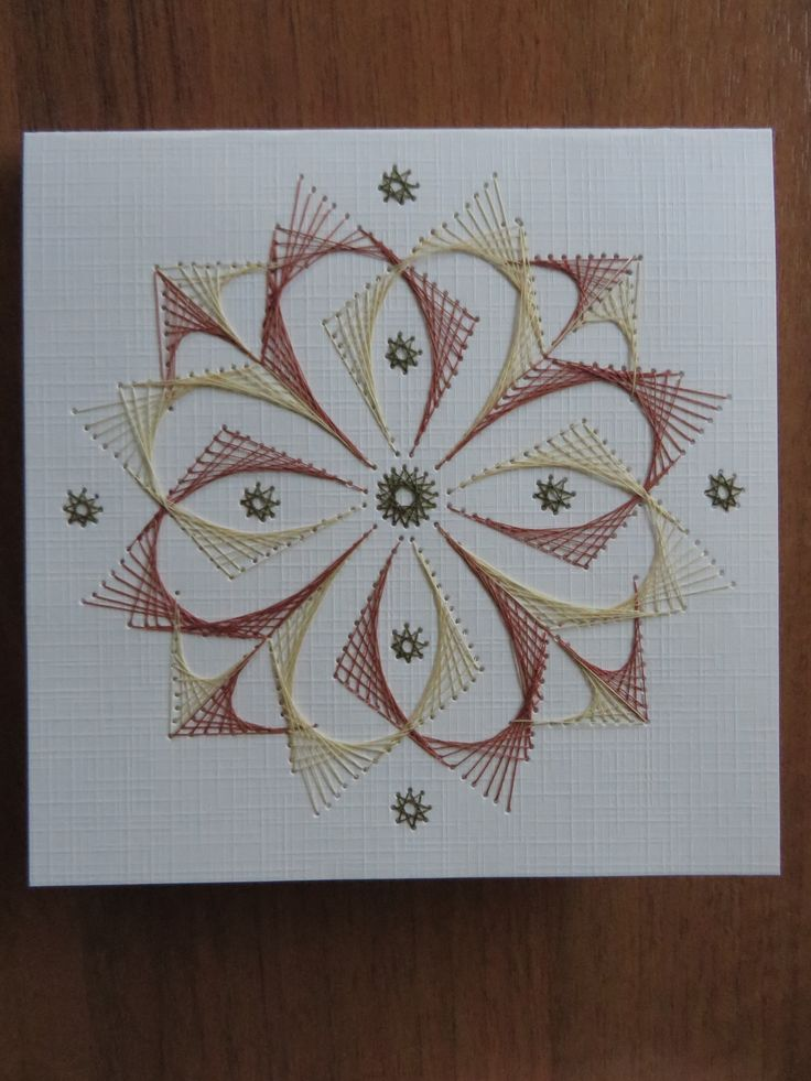 Images about stitching cards string art on