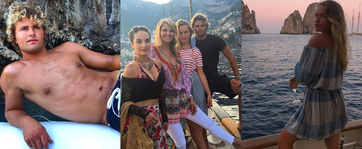 Christie Brinkley's Grown-Up Kids Are Even More Beautiful Than Their Italian Vacation