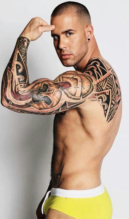 4024cd23a Tattoo men | I want ink | Tattoos, Tattoos for guys, Sexy tattooed men