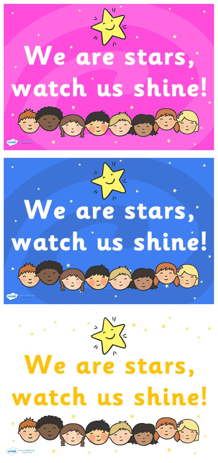 Classroom Design Ideas For Kindergarten ~ Twinkl resources gt we are stars watch us shine posters