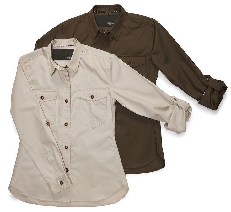 Claridge   King - The Safari Shirt, $168.00 (http://www.claridgeandking.com/the-safari-shirt/)