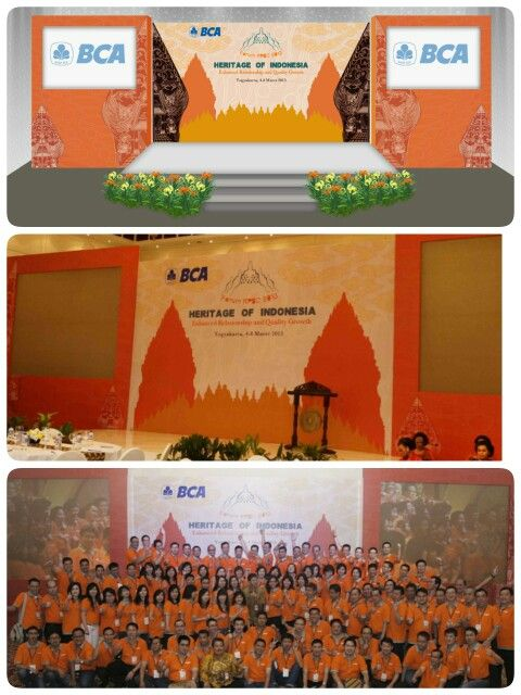#event decoration #seminar event #banking event #indonesian theme #heritage of indonesian theme #yogyakarta #stage