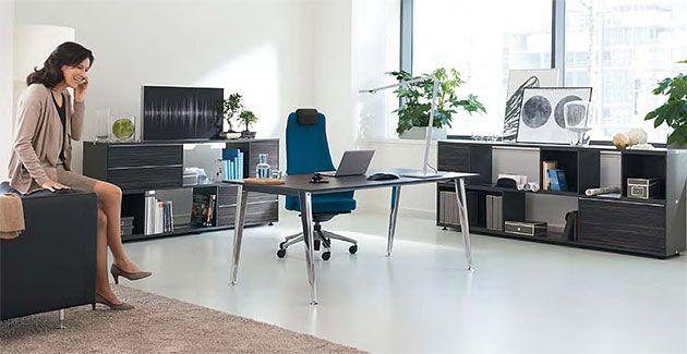 Büroeinrichtung design  Büroeinrichtung, Büroschreibtisch nicht nur funktional | green ...