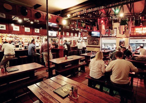 The Firemans Arms is an institution in Cape Town. Second oldest pub in the country and still one of the best places to watch the rugby.