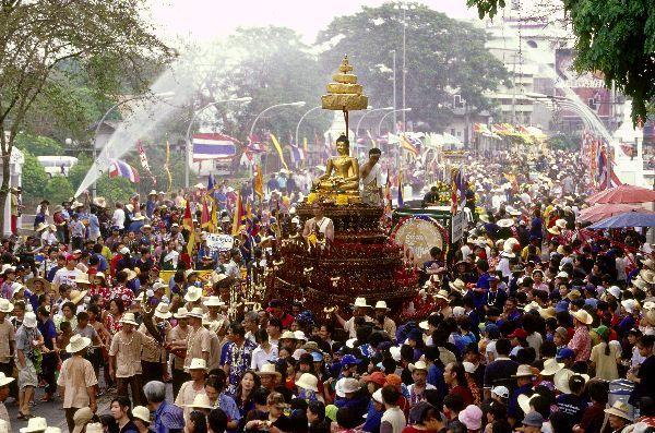 "Songkran Festival, ""Water Festival"" - Thailand"