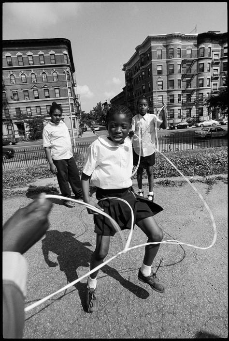 Morningside avenue, Harlem, New York, 2001 - Bruce Davidson