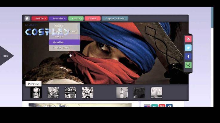 Nuevo diseño en nuestro blog! Dss y DvS os explican cómo usar el nuevo diseño del blog, espeor que os divirtáis viéndolo! un saludo!  más en: http://www.lavidaencosplay.com/