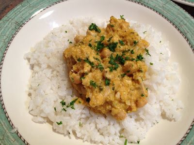 REAL MEALS: Chicken and Coconut curry-less curry