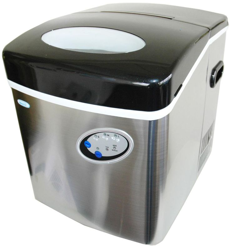 NewAir AI-200SS Stainless Steel Portable Ice Maker