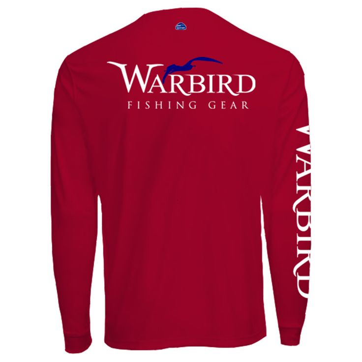 Men's OTP UV Shirt: Red Warbird