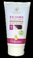 Balsamo Districante BIO - 150 ml  Dona lucentezza e morbidezza. Protegge e nutre con delicatezza ogni tipo di capello facilitando la pettinatura. Adatto a lavaggi frequenti.