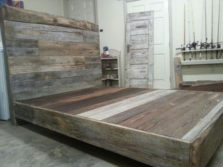 best 25 wood bed frames ideas on pinterest bed frames wood platform bed and platform beds - Full Bed Frame Wood