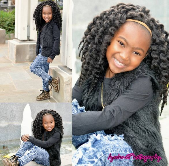 Kid Friendly Crochet Braids  Black Hair Information - Braid Hairstyles