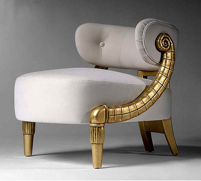 TL FURNITURE | COCKTAIL ARMCHAIRS CARVED GOLD LEAF 2450