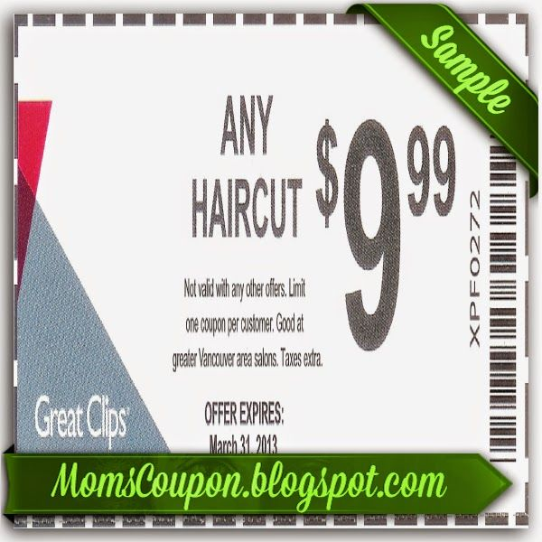 It's just a picture of Satisfactory Sports Clips Free Haircut Printable Coupon