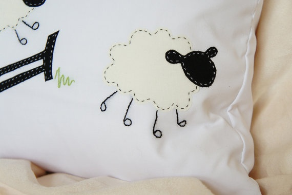 Handmade Cushion  Sleepy Time Collection  by cushionscovered, £40.00