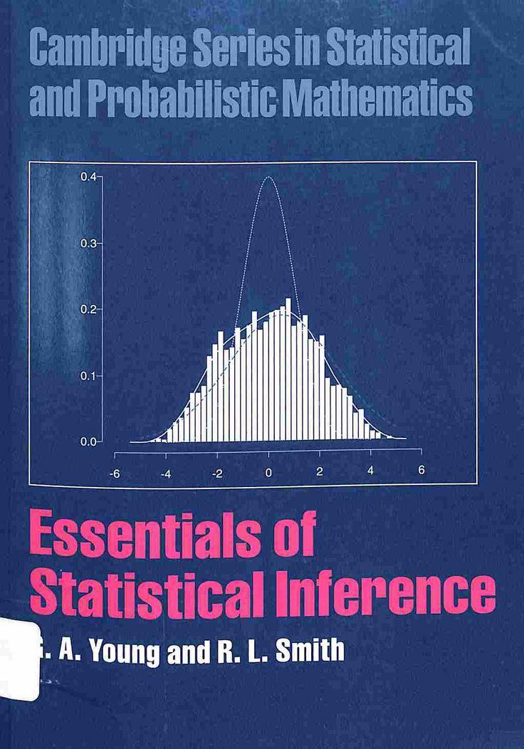 519.54 Y64 2010 Fundamentos de la inferencia estadística. Este libro es un tratamiento moderno y accesible de los procedimientos utilizados para sacar conclusiones a partir de datos formales. Dirigido a estudiantes avanzados en matemáticas y disciplinas relacionadas, así como los de otros campos que buscan un tratamiento conciso de las ideas fundamentales de la inferencia estadística, que presenta los conceptos y resultados que se basa el bayesiano y enfoques fisherianos.
