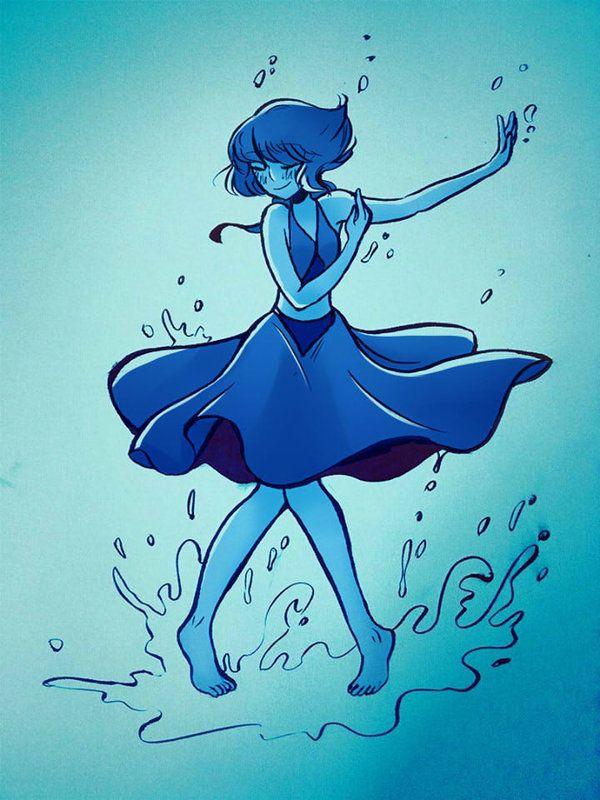 [Steven Universe] Lapis Lazuli by RebeccaMetroStory