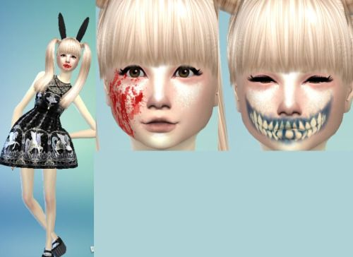 Blood And Smile Requested Http Freakshow Sims Tumblr
