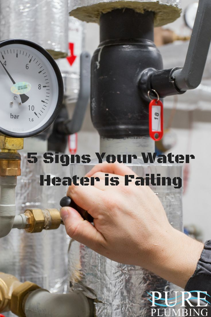 As water heats, minerals separate and fall to the bottom of your tank and insulate the water from the burner. This means your water heater has to work a lot harder to the heat the water and all kinds of strange interactions occur inside that may sound like you're making popcorn or rolling a metal desk down the street. In either case, your water heater is on its last legs.
