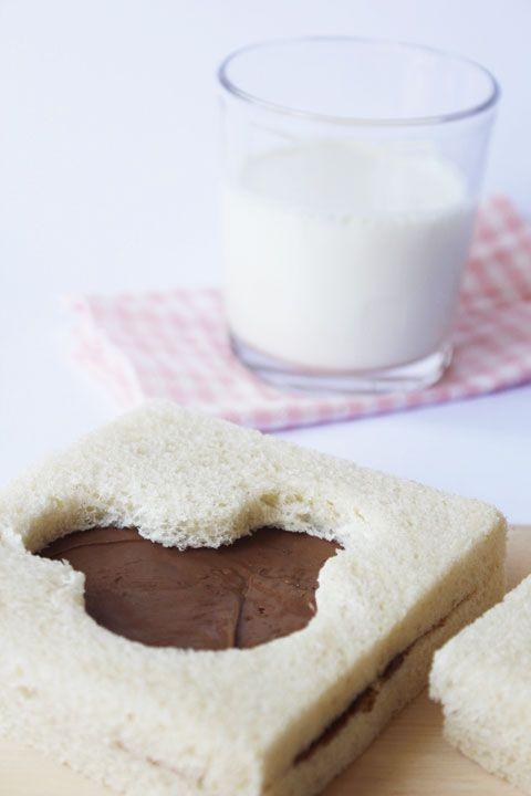 Sandwiches divertidos para la merienda