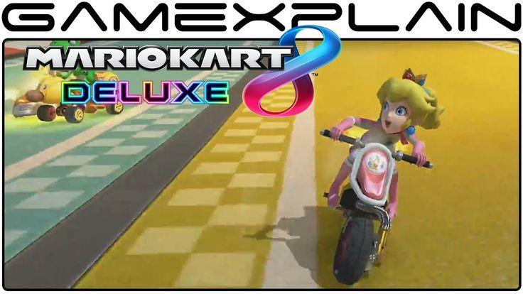 Mario Kart 8 Deluxe - Biggest Mario Kart Game Yet Trailer