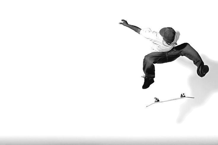 Switch Heelflip #skateboarding Stevie Williams by Blablac