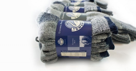 Sock Wrap Packaging for Swanndri NZ