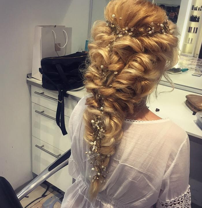 Wedding hairstyle by Micu Nicoleta Accessories Mioara Fulga Buda