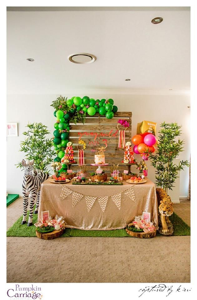 Modern safari party - The Pumpkin Carriage
