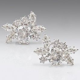 Seagull Gifts | Moissanite Diamond 18 ct Earrings White Gold, Stud Earrings | seagullgifts.com.auWelcome to the brand new collection of exclusive Moissanite Diamond Earrings. Unmatched in its sparkle and brilliance Moissanite Diamonds make a wonderful alternative to the much more expensive Diamonds.