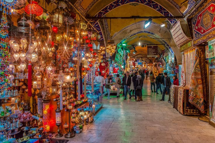 Grand Bazaar, Turkey