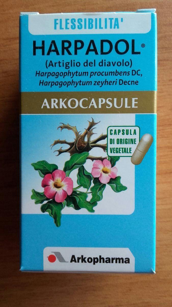 Harpadol Arkopharma capsule a base di Artiglio del Diavolo 100% naturale per combattere dolori articolari, muscolari e non solo...