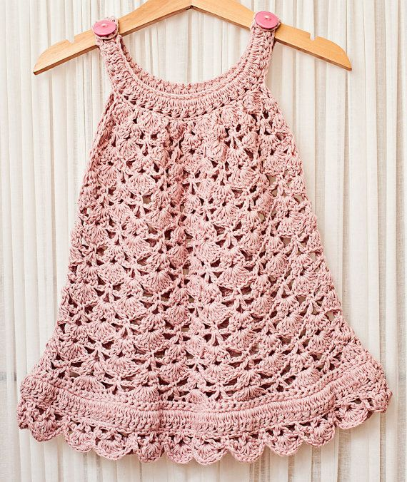 Kleid häkeln MUSTER PDF-Datei Chantilly Lace von monpetitviolon