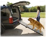 Pet Gear Portable Tri-Fold Dog Ramp! Great for both small and large dogs who have trouble getting in and out of vehicles.